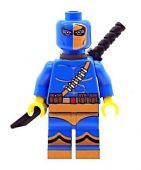 Deathstroke (Blue) From Batman - Custom Designed Minifigure